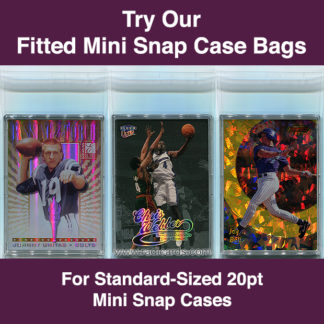 Fitted 20pt Mini Snap Case Bags