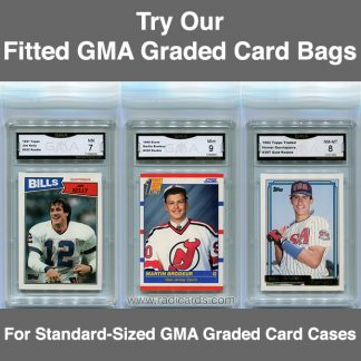 Fitted GMA Graded Card Bags